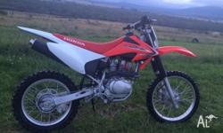 2012 CRF150F � Electric start � 2nd owner, female