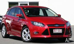 2012 Ford Focus LW MKII Sport PwrShift Red 6 Speed Auto