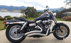 Wanted to sell my 2012 HD Fatbob. Extras include, Vance