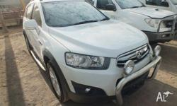 2012 Holden Captiva CG Series II 7 CX (4x4) White 6