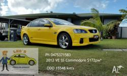 2012 Holden Commodore Sedan VE SS 6 Sp Manual *Low