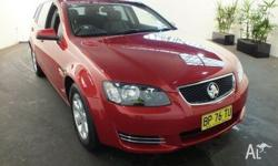 2012 Holden Commodore VE II MY12 Omega Sizzle 6 Speed