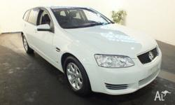 2012 Holden Commodore VE II MY12 Omega White 6 Speed