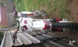 My 2012 Honda CRF450 Dirt Bike is 2 years old and been