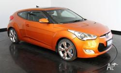 2012 Hyundai Veloster FS + Coupe D-CT Orange 6 Speed
