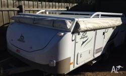 WTS Jayco Swan, late 2012 model. Only used a hand full
