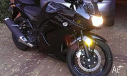 Ultra low Km's, learner legal. Great bike, 1 owner,