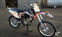 For sale i have my 2012 ktm 250 sxf fuel injected,