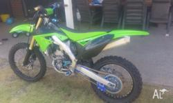 Selling my Kawasaki 2012 KX250f fuel injected, well