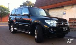 THIS 2012 PAJERO PLATINUM EDITION ONLY 15000KMS, 7