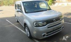 Just arrived 2012 Nissan Cube 15X, auto, Silver with