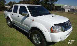 This one owner from new Nissan Navara presents in as