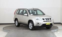 2012 Nissan X-Trail T31 MY11 ST (4x4) Gold 6 Speed CVT