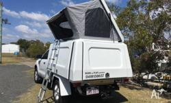2012 PX Ford Ranger With new camper canopy. Would suit