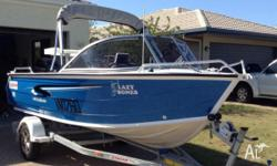 This is a great little boat perfect for inshore or