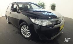 2012 Toyota Camry ASV50R Altise Black 6 Speed Automatic