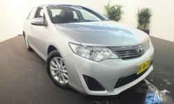 2012 Toyota Camry ASV50R Altise Silver 6 Speed