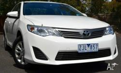This is a Great Example of a 4 CYL Toyota Camry Altise.