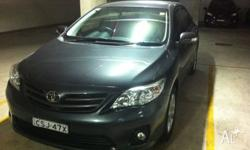 Hi, I am selling my TOYOTA corolla sports sedan all