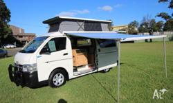 2012 Toyota Hiace Twin Bed Campervan Automatic