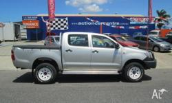 TOYOTA HILUX D/CAB 4X4 UTE 4/CYLINDER TURBO DIESEL