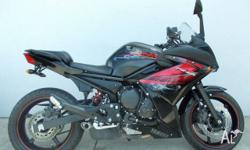 The 2012 Yamaha FZ6R has a special ambience that makes