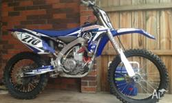 2012 yz450f, has only done 40hrs- 8 on the suspension