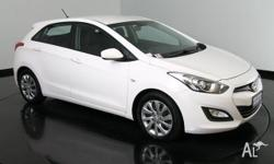 2013 Hyundai i30 GD Active Creamy White 6 Speed Auto
