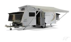 The Expanda 16.49-1B offers a compact PopTop Caravan
