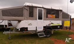 ....2013 JAYCO SWAN OUTBACK ...12' BAG AWNING , BED END