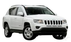 2013 Jeep Compass MK MY14 North Bright White 6 Speed