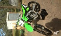 2013 kx250f great bike regretful sale comes with