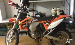 2013 KTM 450 EXC perfect condition loads of extras and