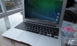2013 MacBook Air 11 inch laptop, 128GB i5 processor, 5