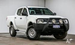 This 2.5-L automatic turbo diesel Triton is a credit to