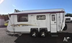 2014 17'6 AVAN ASPIRE ADVENTURE SERIES SEMI OFF ROAD