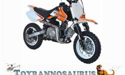 This 50cc pit bike is the ideal gift for all 5 to 12