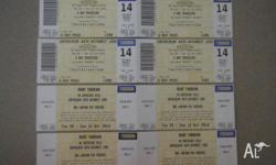 4 tickets for bathurst 1000,unable to use offering 4