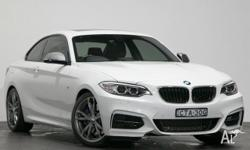 This 2014 BMW M235i Coupe is a 3.0 litre 6cyl