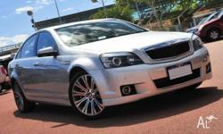 Holden Caprice V WN V8 Sedan - *Comes with FREE BP fuel