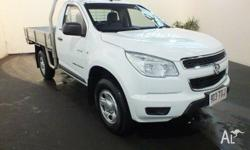 2014 Holden Colorado RG MY14 LX (4x4) White 6 Speed