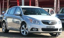 2014 Holden Cruze JH Series II MY14 Equipe Silver 5