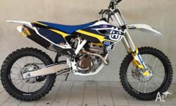 2014 BRAND NEW HUSQVARNA FC250 COMES WITH FREE FMF PIPE