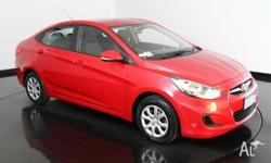 2014 Hyundai Accent RB2 Active Veloster Red 4 Speed