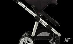 2014 Icandy Apple 2 Pear Pram BLACK brand new still in