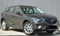 . Mazda CX5 Akera 2014 with only 1,000k's Balance of