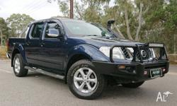 2014 NISSAN NAVARA D40 ST MANUAL DUAL CAB!! This