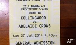 **QUICK SALE**2014 TOYOTA AFL PREMIERSHIP SEASON
