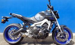 2014 Yamaha MT-09 850cc - WHY BUY NEW?!? Save yourself
