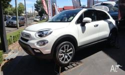 All new Fiat 500X, the sporty crossover, AWD, 1.4lt